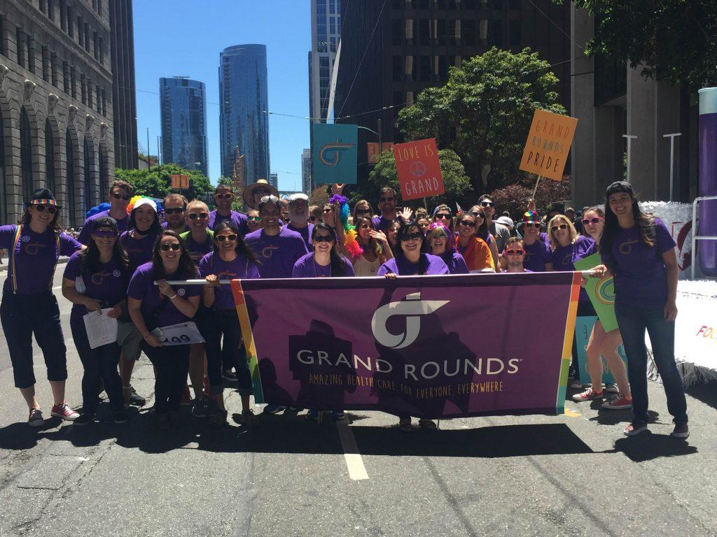 Grand Rounds celebrates Pride