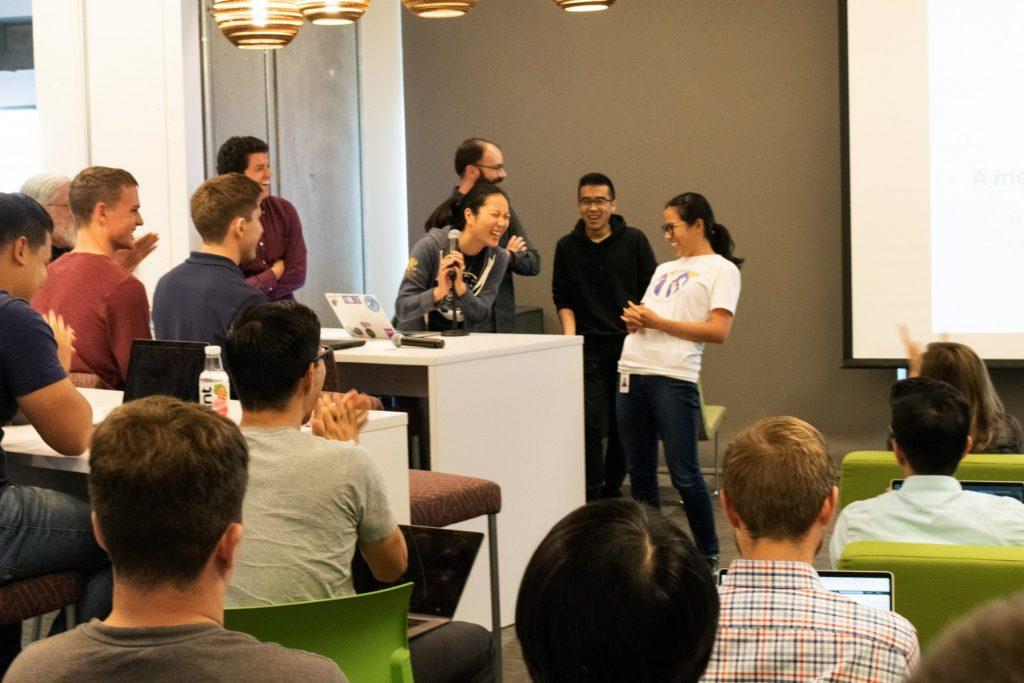Group of people during hackathon