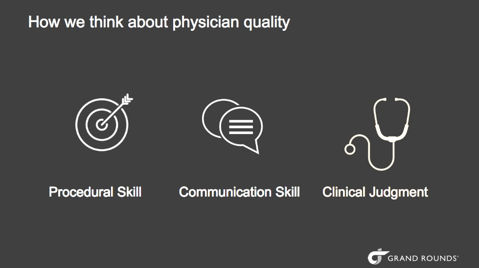 How we think about physician quality