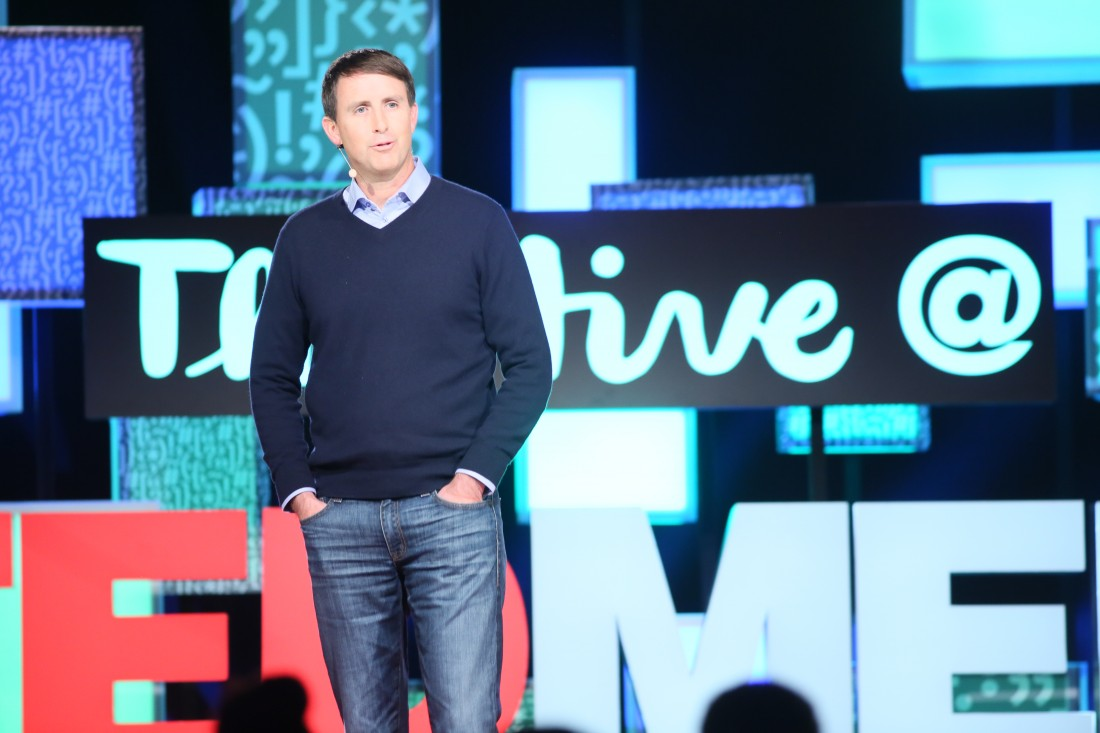 Dr. Rusty Hofman during Ted talk