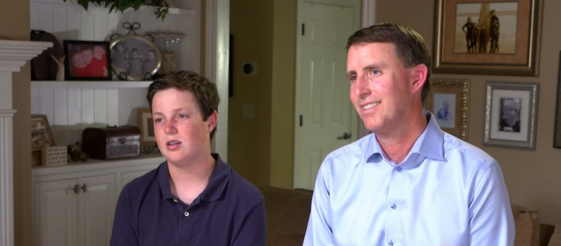 Screenshot of TODAY Show Phenomenal Fathers Series