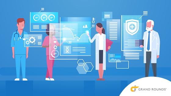 Illustration: of cutting edge telemedicine