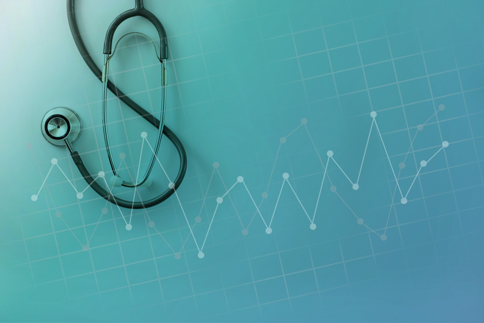 Stethoscope and chart