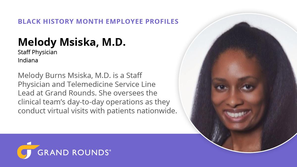 Melody Msiska business card